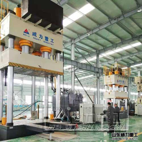 SMC制品成型伺服液压机
