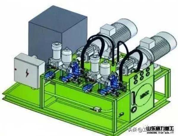 伺服液压系统图示