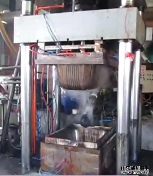 压建筑模壳四柱液压机