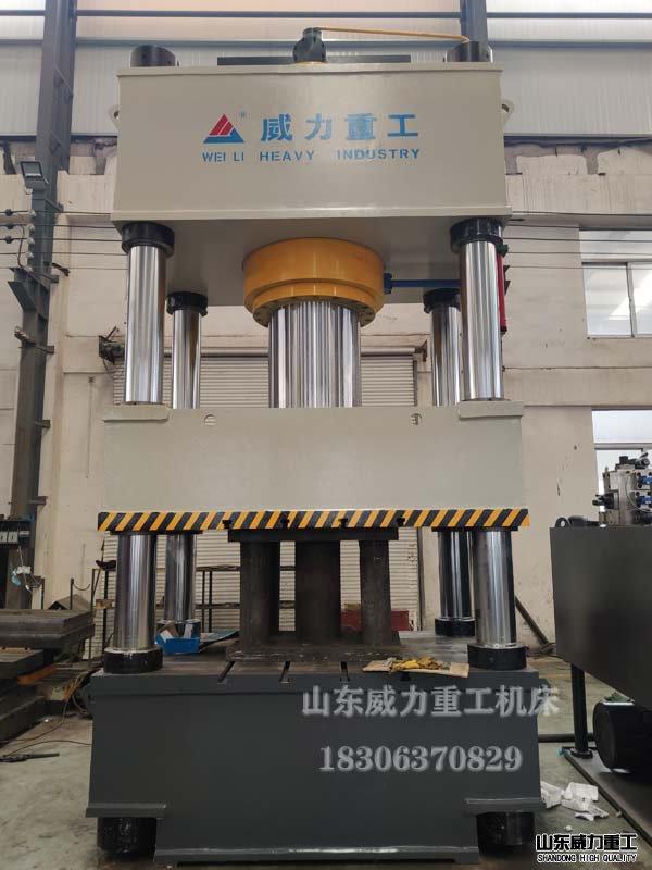 800吨四柱液压机图片