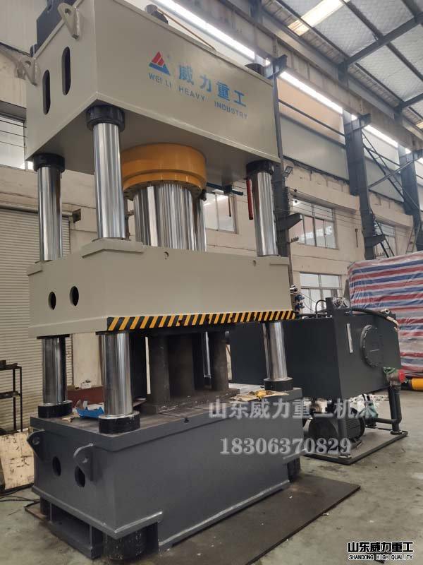 800吨三梁四柱液压机