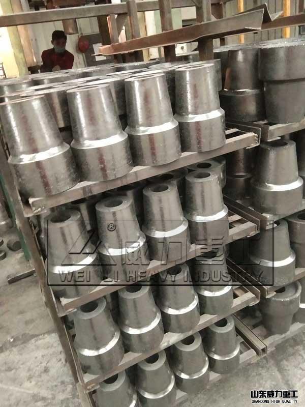 耐火材料压制工件