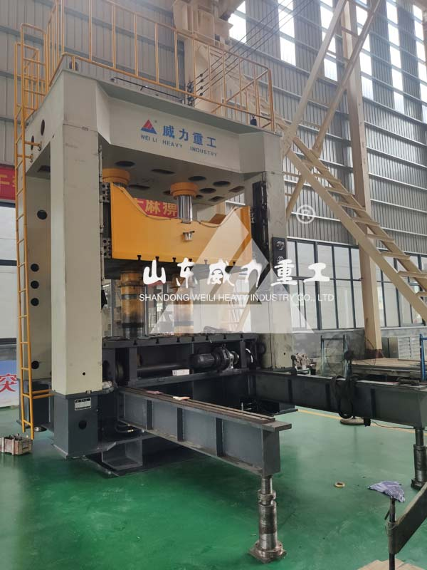 630吨框架式伺服液压机