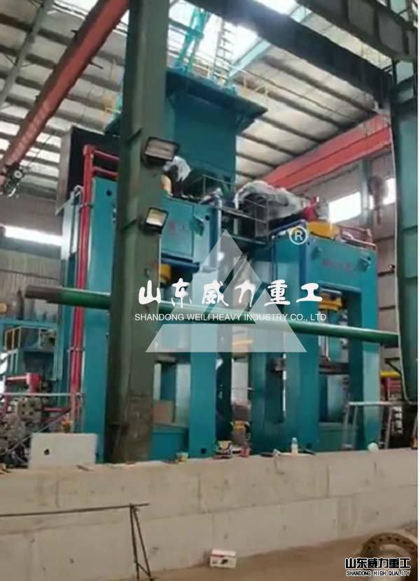 1600吨龙门式金属热压块成型机
