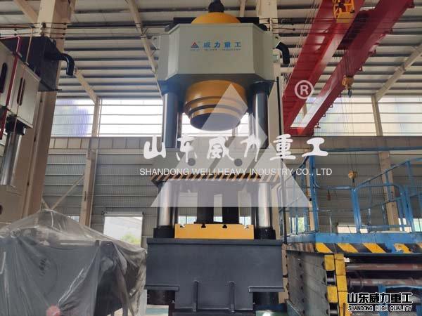 1600吨快速热锻成型液压机